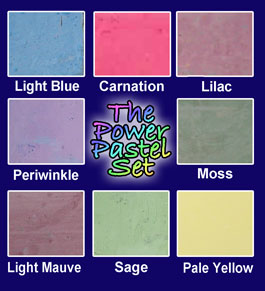 The Power Pastel Chalk Set
